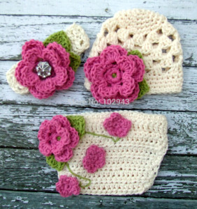 3Sets-girl-flower-hat-headband-and-shorts-font-b-crochet-b-font-newborn-font-b-baby